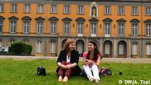 Jonida Cangonja und Migena Kodra Studentinnen Uni Bonn