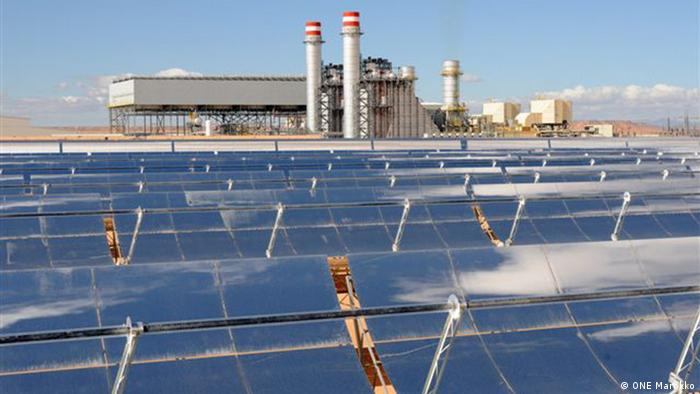Solar power generation in Morocco