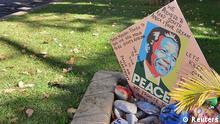 Südafrika Nelson Mandela Genesungswünsche
