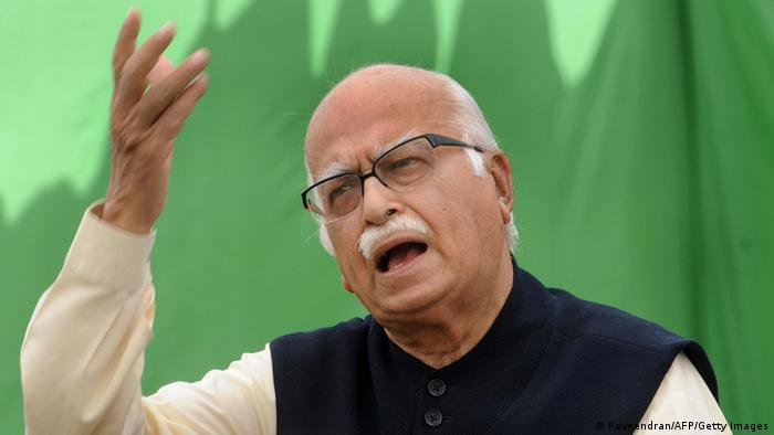 BJP Lal Krishna Advani 14.04.2009 (Raveendran/AFP/Getty Images)