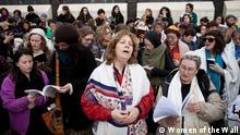 Mitglieder von Women of the Wall beten