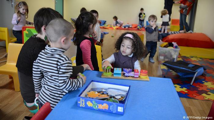 Kindergarten in Frankreich
