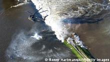 Hochwasser Deutschland Fischbeck 10. Juni 2013 Deichbruch