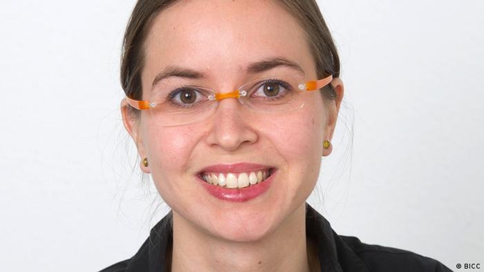 Marie Müller ist Wissenschaftlerin am Bonn International Center for Conversion (BICC) (Foto: BICC)