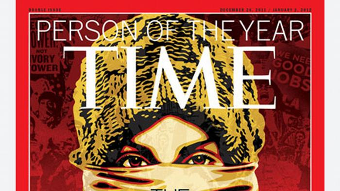 Cover Time Person of the year 2011