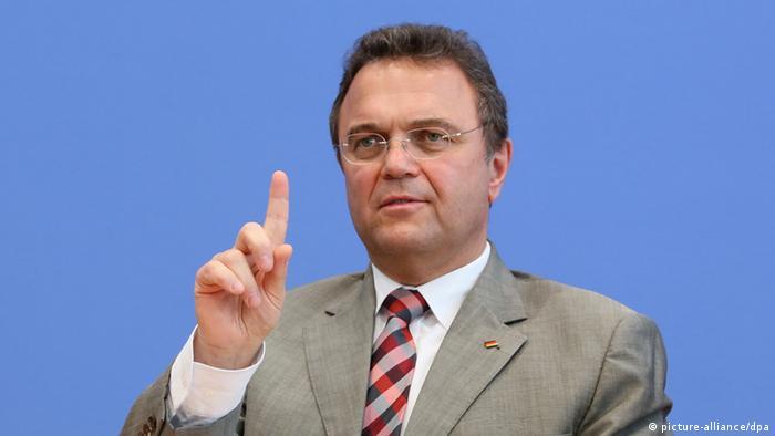 Министр внутренних дел Германии Ханс-Петер Фридрих