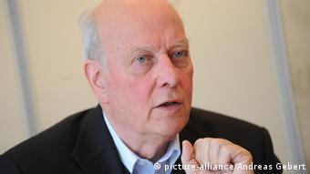 Carl Christian von Weizsäcker (Foto: picture-alliance/Andreas Gebert)