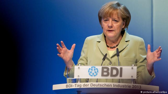 BDI - Bundeskanzlerin Angela Merkel
