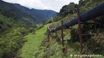 The trans-Ecuadorian oil pipeline