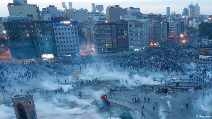 С конца мая в Турции продолжаются акции протеста и беспорядки