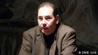 ***Achtung: Nur zur mit Khaled al-Khamissi abgesprochenen Berichterstattung verwenden!*** Der ägyptische Schriftsteller Khaled al-Khamissi *** © DW/Bettina Kolb undatiert, eingestellt im Jubni 2013