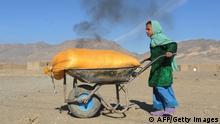Afghanistan Kinderarbeit in Backsteinfabrik