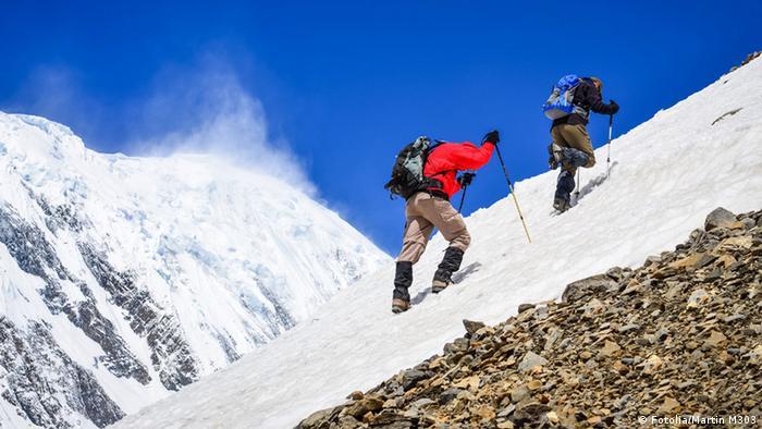 Bergsteiger im Himalaya (Fotolia/Martin M303)