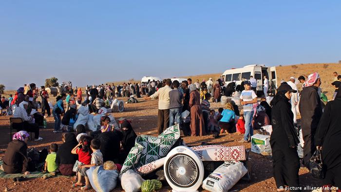 Syrian refugees trying to get to the EU (Foto: picture alliance / abaca)