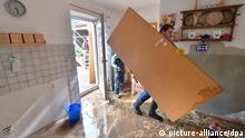 Hochwasser Aufräumarbeiten in Grimma 04.06.2013