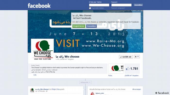 We Choose / Online-Wahlen im Iran