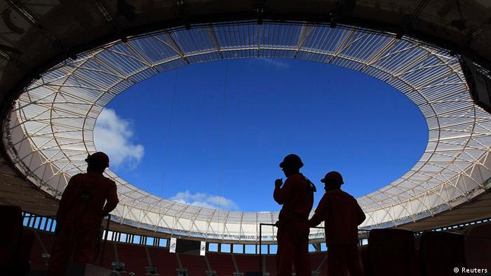 Natinal Stadion Brasilien (Reuters)