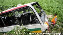 Bangladesh Bus Unfall