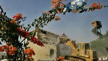 Israelische Siedlungen in Gaza geräumt
