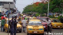 Straßenszene in Liberia