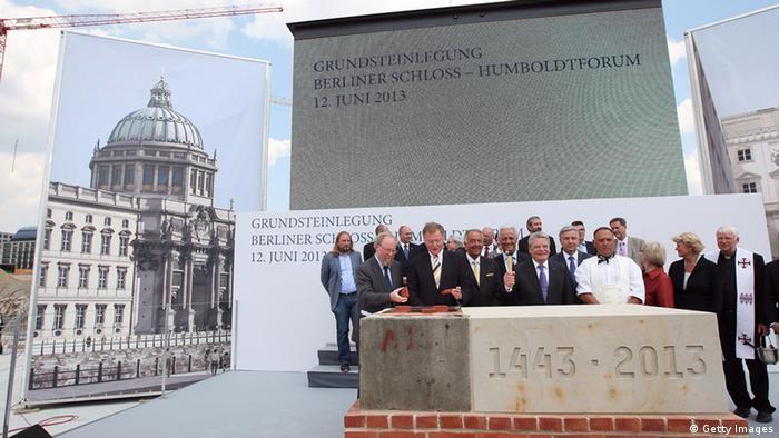 Grundsteinlegung Berliner Stadtschloss