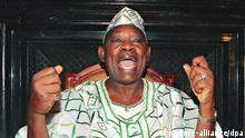 Regimegegner Nigeria Chief Moshood Abiola