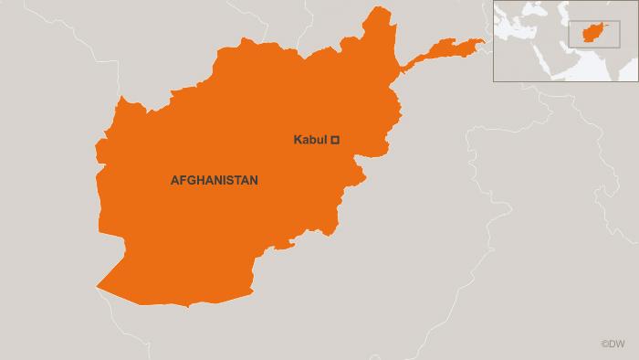 Afghanistan map. (DW)