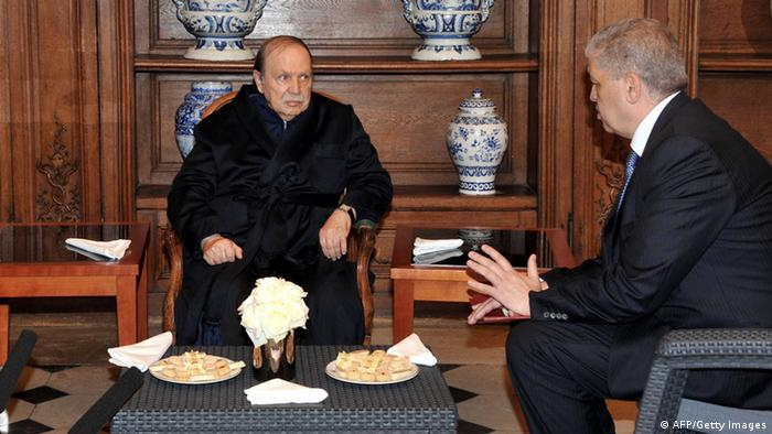 Abdelaziz Bouteflika Präsident Algerien Krankenhaus Frankreich (AFP/Getty Images)