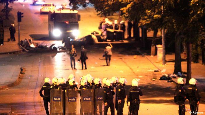 Türkei Proteste gegen die Regierung 13.06.2013 Ankara
