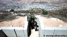 Israelische Siedlung Itamar im Westjordanland