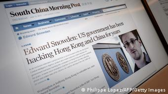 South China Morning Post Interview mit Edward Snowden 13.06.2013 Online