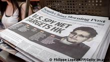 South China Morning Post Interview mit Edward Snowden 13.06.2013