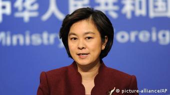 Hua Chunying Sprecherin chinesisches Außenministerium