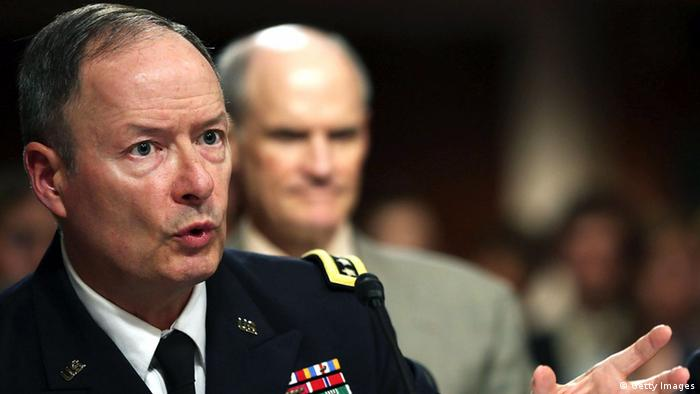 WASHINGTON, DC - JUNE 12: U.S. Army Gen. Keith Alexander, commander of the U.S. Cyber Command, director of the National Security Agency (NSA), testifies during a Senate Appropriations Committee hearing on Capitol Hill, June 12, 2013 in Washington, DC. (Photo: Mark Wilson/Getty Images)