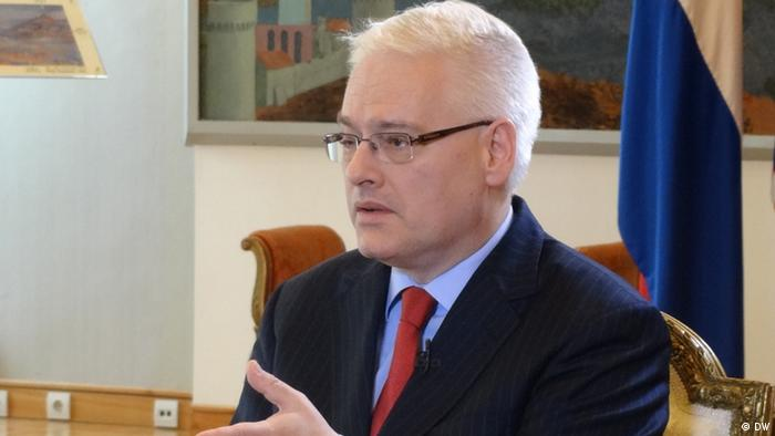 DW interview with Ivo Josipovic, President of Croatia, 11.06.2013, Zagreb.