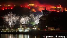 Deutschland Kulturkalender Juli 2013 Rhein in Flammen