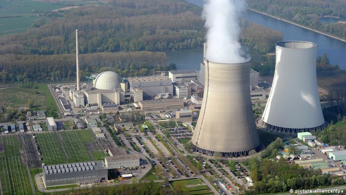 АЭС Филиппсбург, которая по плану должна быть отключена от сети в 2019 году