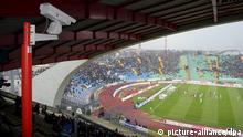 Fußball Test Kameraüberwachung der Torlinie