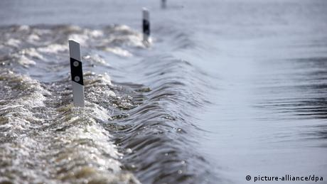 Flood waters in Schönfeld, Germany (Photo: Christian Charisius/dpa)