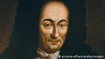 Porträt des Philosophen Gottfried Wilhelm Leibniz