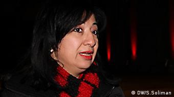 Thema: Samaa: Muslimisch –koptische Musik für den Frieden Foto-Titel: Frau Seham Ismaiel - Künstlerischer Leiterin Ort und Datum: München 2013 Copyright : DW/Soliman