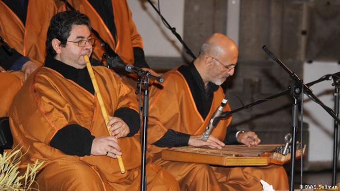 Thema: Samaa: Muslimisch –koptische Musik für den Frieden Foto-Titel: Samaa Ensemble2 in München Ort und Datum: München 2013 Copyright: DW/Soliman
