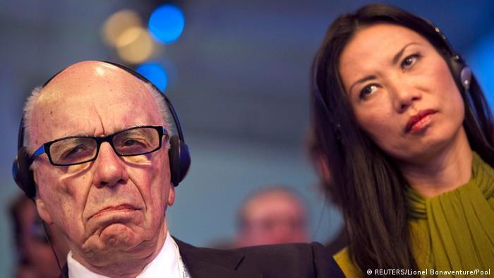 Bildergalerie Schiedung Murdoch und Deng