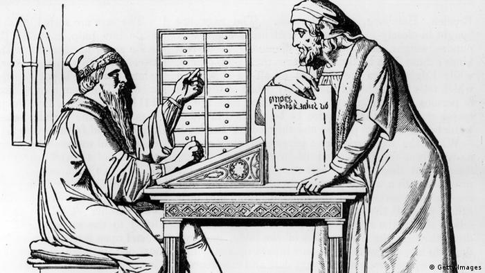 Deutschland Geschichte Buchdruck Johannes Gutenberg