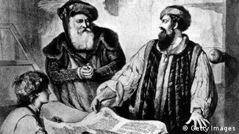 Deutschland Geschichte Buchdruck Johannes Gutenberg (Getty Images)