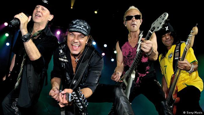 The Scorpions in a press shot