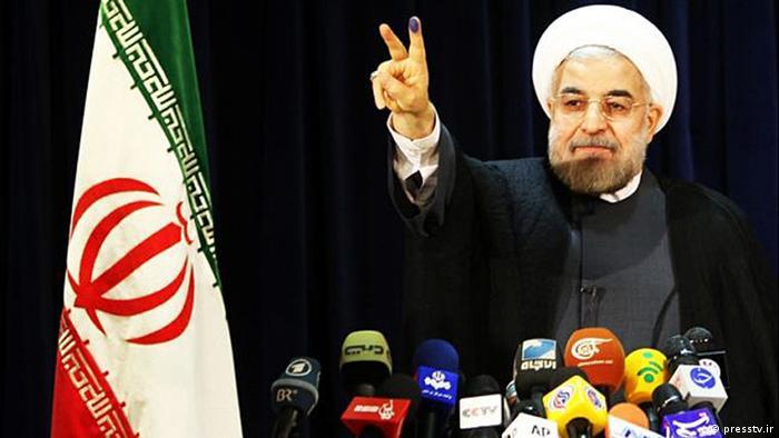 حسن روحانی در کارزار انتخابات ریاستجمهوری میگفت کلید حل مشکلات در دست اوست