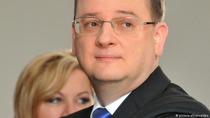 Jana Nagyova , Petr Necas, Tschechien