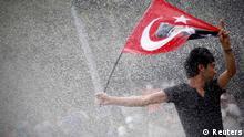 Türkei Istanbul Protest Gezi Park