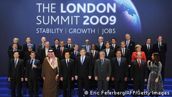 G20 leaders in London 2009 (Photo: ERIC FEFERBERG/AFP/Getty Images)